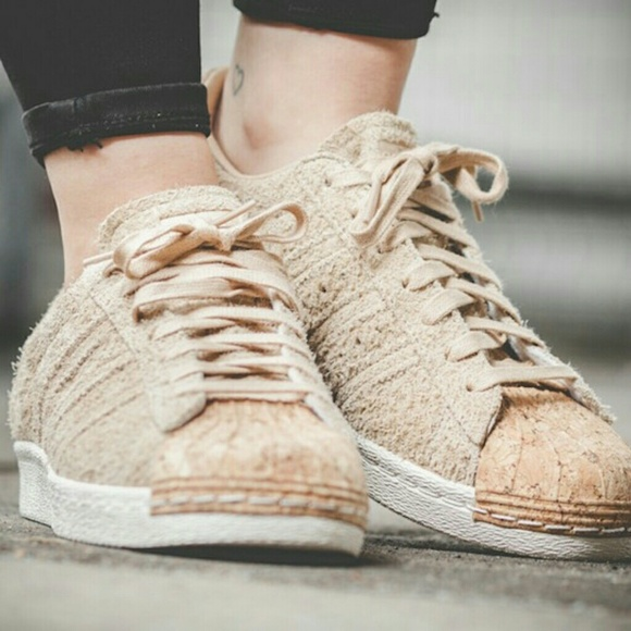 detailed look 919ad 0a515 Adidas Superstar 80s Cork W 8.5